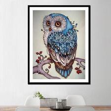 5D Owl Wall Diamond Embroidery Painting DIY Rhinestone Cross Stitch Craft Kit