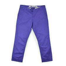 GANT Damen Hose Gr.42 7/8 lila Stoffhose Woman Tailored Pants Chino wie NEU