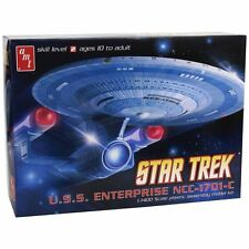 AMT Star Trek USS Enterprise NCC-1701-C - 1:1400 Scale Model Kit - AMT721