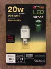 Utilitech 20 W (Warm White) Equivalent Wedge LED Decorative Light Bulb 0596946