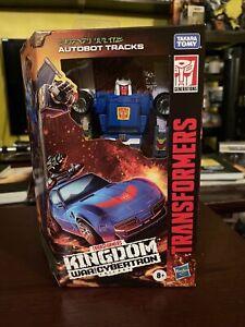 "Transformers AUTOBOT TRACKS War For Cybertron Kingdom 6"" Hasbro Figure NEW"