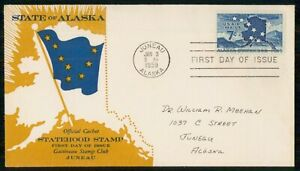 Mayfairstamps US FDC 1959 COVER ALASKA 7c AIR MAIL ISSUE wwm8435