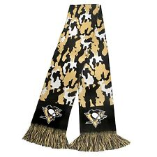 """Pittsburgh Penguins Scarf Knit Winter Neck NEW NHL 65"""" - CAMOUFLAGE Camo - 2013"""
