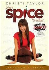 CHRISTI TAYLOR PURE SPICE CINNAMON WORKOUT DANCE DVD EXERCISE NEW SEALED