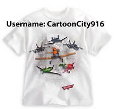 Disney Pixar Planes Dusty Skipper El Chupacabra Ripslinger Echo T-Shirt Size 7/8