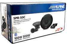 "ALPINE SPR-50C 5.25"" Compnenet Car Speakers New SPR50C 5-1/4"" 2-Way Car Speakers"