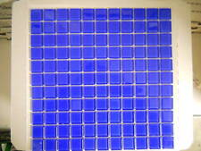 Crystal glass mosaic tiles - #F177 Royal blue - Pool / waterline / Feature walls