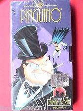 LE AVVENTURE DI BATMAN E ROBIN 6 Pinguino VHS Videocassetta Peruzzo 45 minuti da