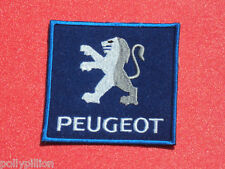 PEUGEOT BLUE LION RACING MOTORSPORTS SEW/IRON ON PATCH