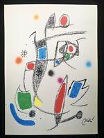 Joan Mirò - Meraviglie con variazioni acrostiche, 27x38 cm, 1975, litografia