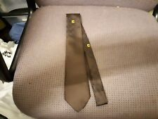 Bourne Polyester Brown Tie