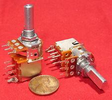 2 pack Alpha 5K OHM Reverse Log Antilog Push-Pull Potentiometer DPDT Switch Pot