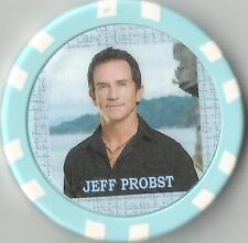 JEFF PROBST STARRING IN SURVIVOR 2000-PRESENT  COLLECTOR CHIP