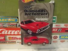 HOT WHEELS 1:64 007 DIAMONDS Are FOREVER RED '71 MUSTANG MACH 1, 2/5, CGB73
