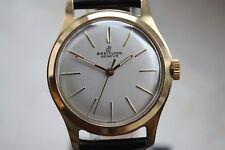 Breitling Bidynator Automatik Armbanduhr Wristwatch Felsa 4000N Swiss Made Gold