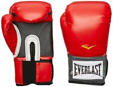 New Everlast Pro Style Training Gloves Red 16 oz. Free Shipping