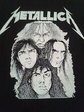 Metallica Cliff Em All Pushead True Vintage T-Shirt RARE Cliff Burton 1988 XL