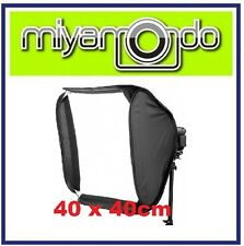 40x40cm Portable Soft Box Softbox Kit For Flash Photography