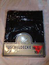 Colours of the World Kuschel Fleece Decke schwarz 180x150 cm NEU OVP