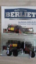 IXO Berliet GBC 8KT Militaire Avitailleur tout terrain 1/43 Neuf NEW N°90