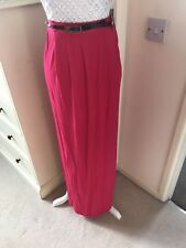 Brand New With Tags Pink Maxi Skirt Size 14