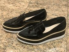 Saks Fifth Avenue Patent Leather Creepers