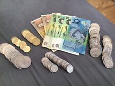 More details for large collection of australia coins & banknotes $59 left over holiday money!!!