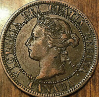 1899 CANADA LARGE CENT PENNY LARGE 1 CENT
