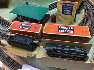 Lionel Postwar 2026 w/ 6466W Whistling Tender 1948 Excellent Plus With Boxes