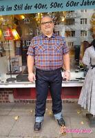 59er King Kerosin Rockabilly Jeans 50er Oldschool Hose Hot Rod Biker Denim Sale