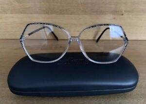 Silhouette Eyeglasses Frames 1849 6060 57/12 Crystal Optical Glasses
