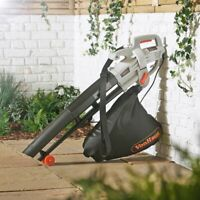 3-In-1 GARDEN LEAF BLOWER 35L Bag Blows Vacuum Hoover /& Mulches Leaves 3000W NEW