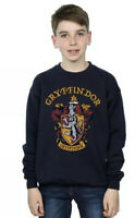 Kids absolute cult Harry Potter Gryffindor Crest Navy Sweater 9-11 Y New