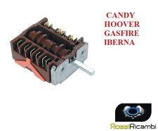 COMMUTATORE FORNO CANDY HOOVER IBERNA SELETTORE 5 POSIZIONI  91204784 42814660