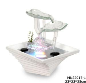 Hochwertiger Zimmerbrunnen im Feng Shui -Stil und LED Beleuchtung 171 NEU