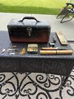 SIMONSEN VINTAGE METAL FISHING TACKLE BOX With Accessories