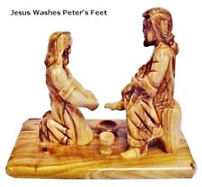 """Jesus Washes Peter's Feet - 6.5"""""""