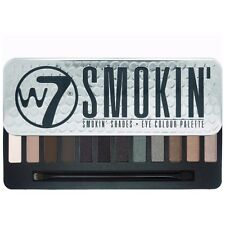 W7 Make up - 12 Eye Shadow Palette Tin - Smokin For Smokey Eyes