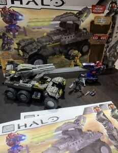 HALO Mega Bloks 97139 - UNSC Anti-Armor Cobra Assault Tank Vehicle