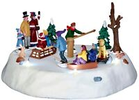 Lemax Victorian Ice Merry Go Round #44773 BNIB Animated Table Accent