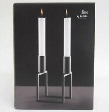 by Lassen Kerzenhalter LINE schwarz Kerzenleuchter - ein Designklassiker NEU+OVP