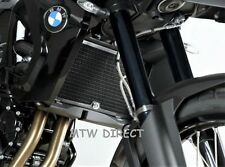 BMW F800GT (2013-2018) R&G Racing black radiator guard cover protector RAD0082BK