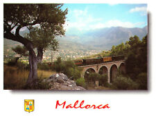 Mallorca, Soller, Spain Railway Bridge Rare Postcard Postmarked 21st March 2001