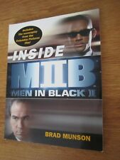 Inside Men In Black 2-Making of Book from the Movie-Brad Munson-Will Smith