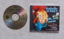"""CD AUDIO MUSIQUE / ISABELLE AUBRET """"ELLE VOUS AIME"""" 18T CD COMPILATION 1995 POP"""