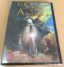 EL SEÑOR DE LOS ANILLOS 1978 ANIMACION - DVD MULTIZONA 1 A 6 - NUEVO NEW SEALED
