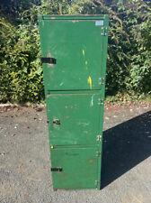 Vintage Industrial Metal Green Storage Locker