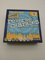 Reverse Charades Junior Edition Kids and Family Game 100% Complete.