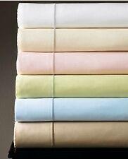 Sferra Marcus Green King Sheet Set Solid 4 Piece 100% Cotton Sateen 400 TC NEW