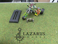 Warhammer 40k oop metal Rogue Trader Squat Warlord Trike w/ Engineer Sidecar